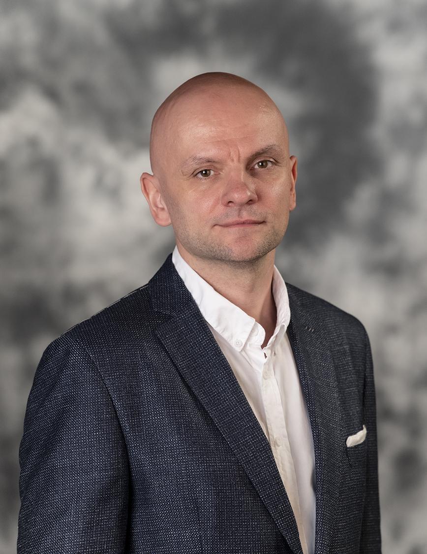 Zdjęcie portretowe prof. Olafa Flaka