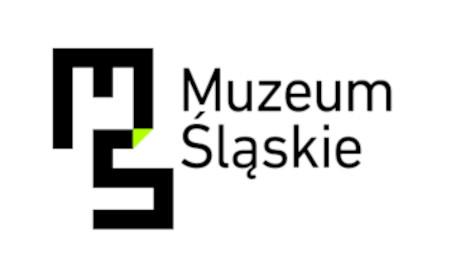 Logo Muzeum Śląskiego, litery M i S połączone ze sobą w formie labiryntu