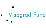 logo fundacji niebieski napis i 4 czarne kropki