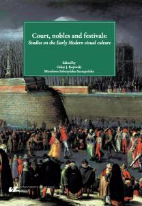 Okładka publikacji Court, nobles and festivals