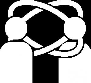 ikona konferencje białe
