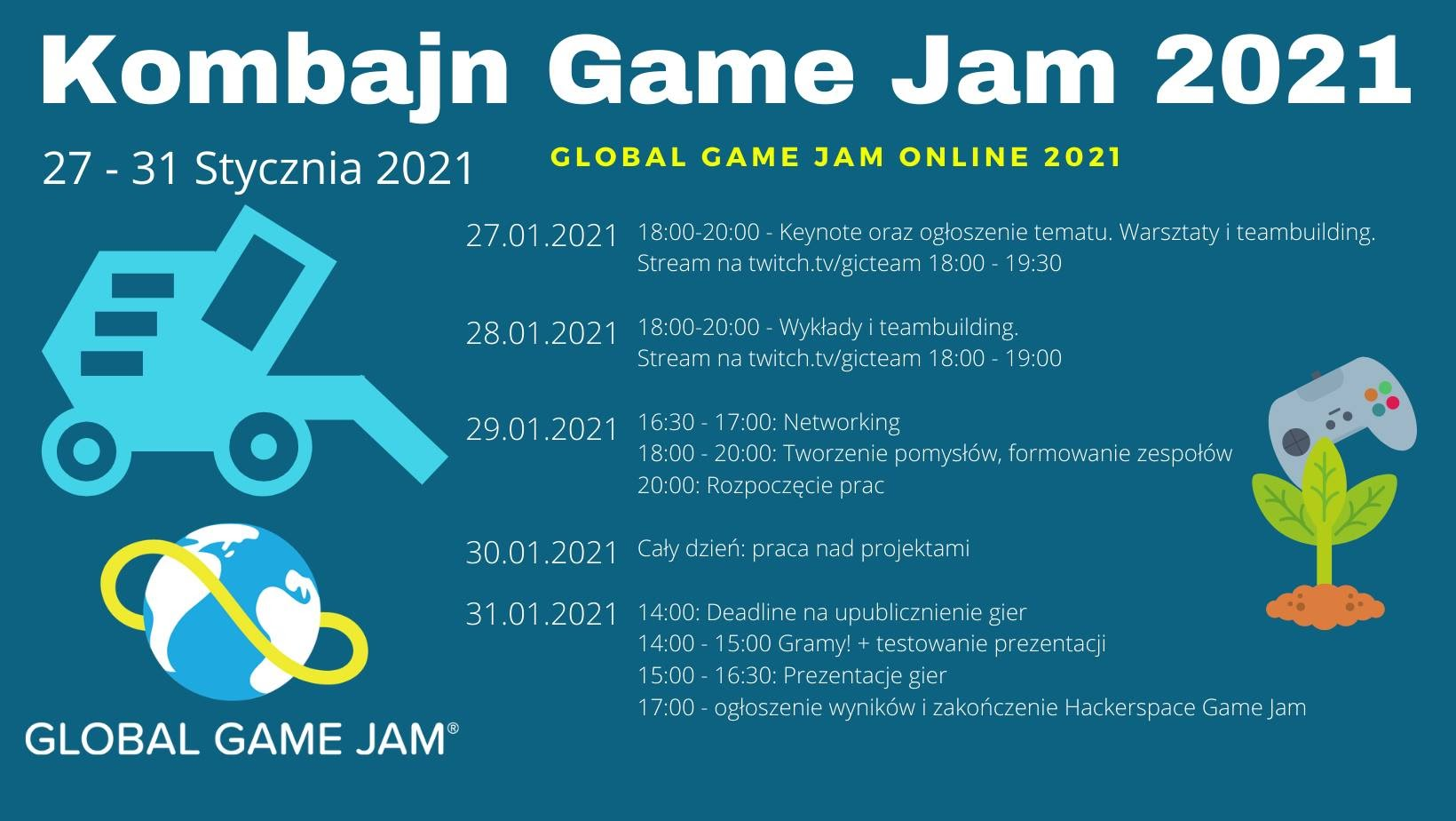 GLOBAL GAME JAME ONLINE 2021