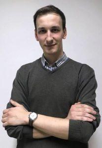 Jacek Kiera – przewodniczący Komisji ds. Dydaktyczno-Socjalnych Samorządu Studenckiego