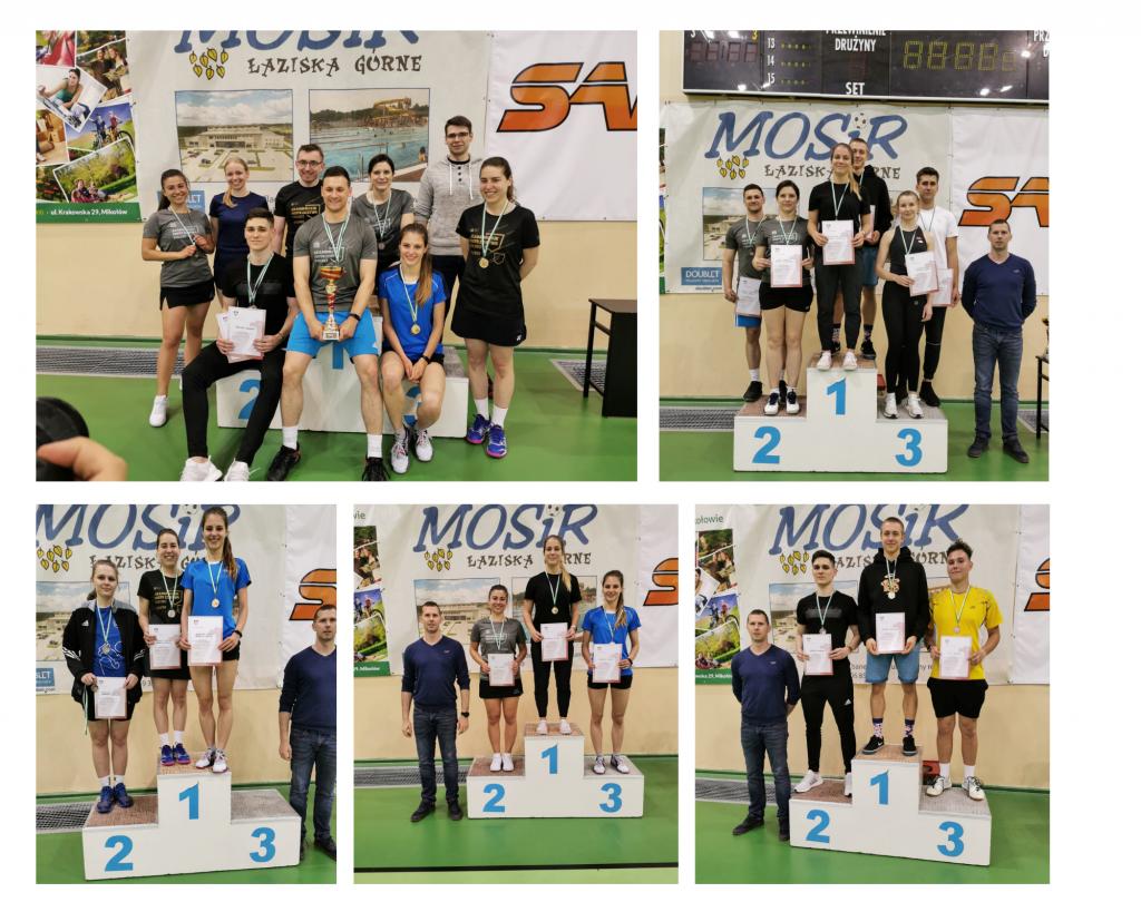 Badmintoniści UŚ na podium mistrzostw