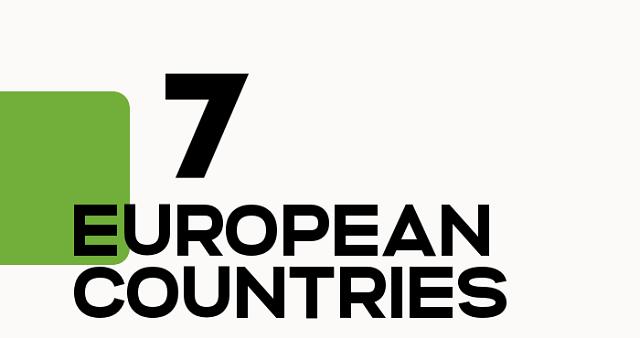 7 European countries