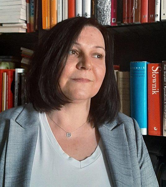 Zdjęcie portretowe prof. Agnieszki Pieli