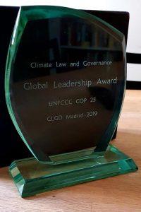 Statuetka Global Leadership Award