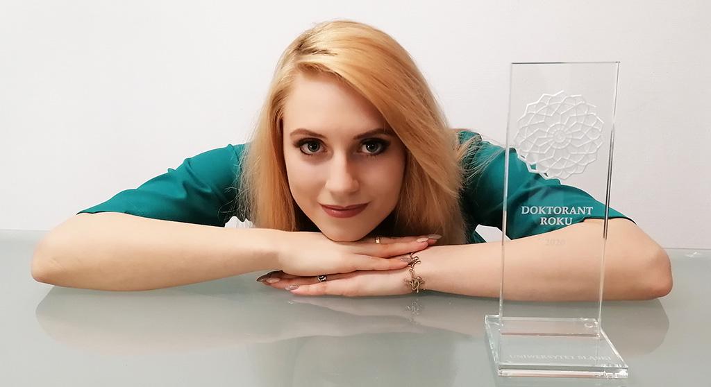 Doktorantka Roku 2020: Marta Frąckowiak z Wydziału Sztuki i Nauk o Edukacji