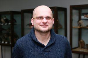 Zdjęcie portretowe prof. Łukasza Depy