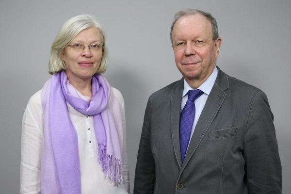 Zdjęcie portretowe dr Jolanty Sobery i prof. Macieja Sablika
