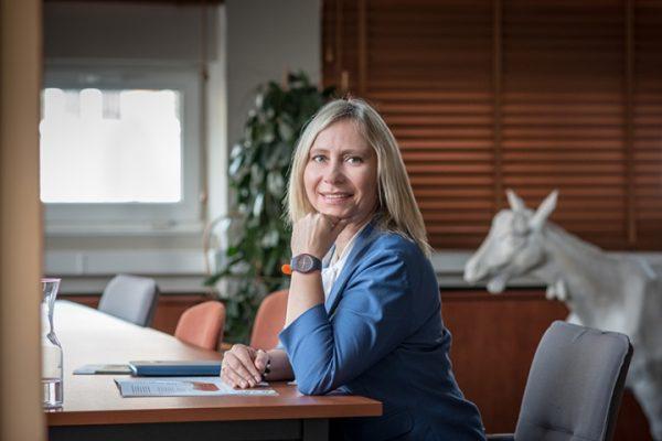 Zdjęcie portretowe prof. Małgorzaty Myśliwiec