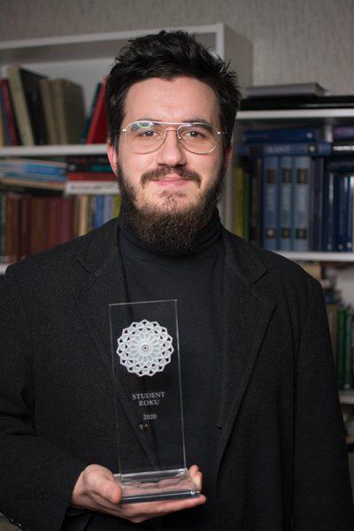 Student Roku 2020: Pylyp Bilyi z Wydziału Humanistycznego UŚ