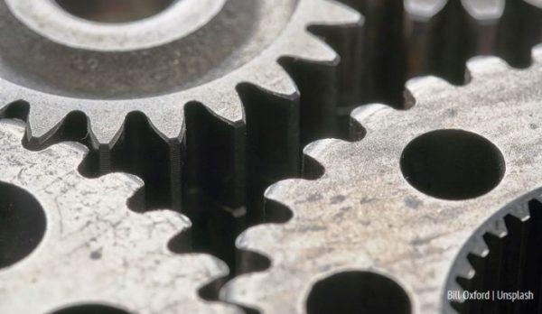 Ruchome elementy maszyny