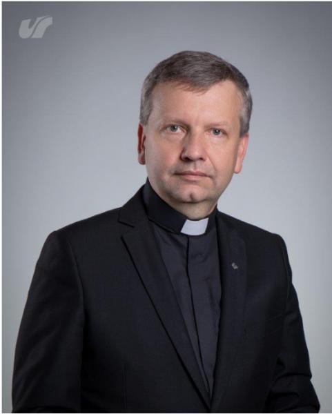 Zdjęcie portretowe ks. prof. Antoniego Bartoszka
