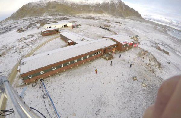 Budynek widziany z lotu ptaka