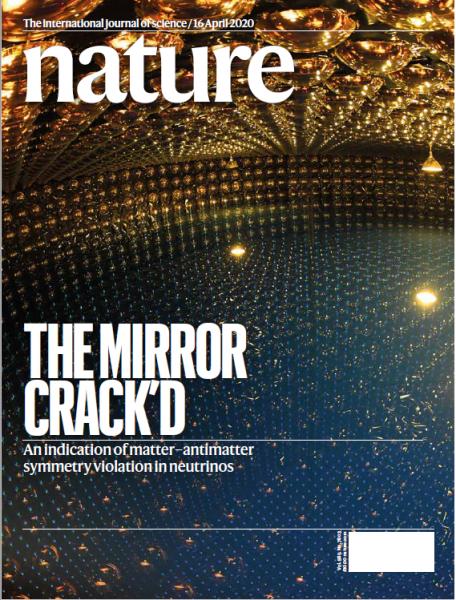 """Okładka czasopisma """"Nature"""""""