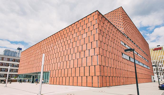 budynek Centrum Informacji Naukowej i Biblioteki Akademickiej