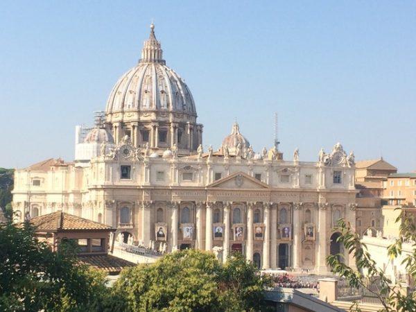 Bazylika św. Piotra w Rzymie – zdjęcie budynku