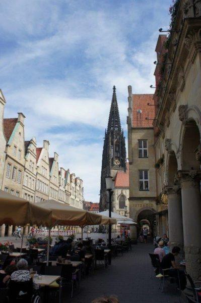 Widok ulicy w Monastyrze