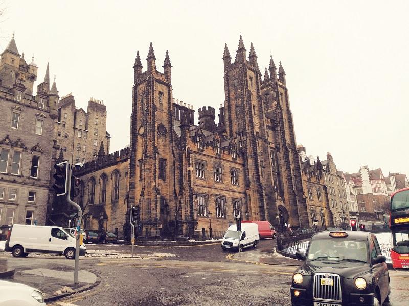 Budynek Uniwersytetu w Edynburgu
