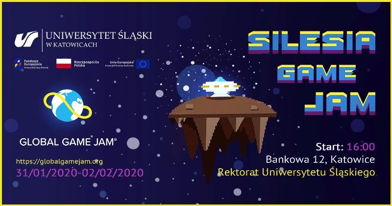 plakat promujący Silesia Game Jam