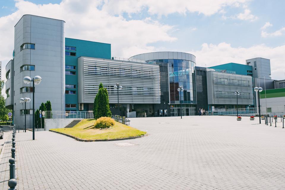 Budynek Wydziału Prawa i Administracji. Mat. Uniwersytet Śląski