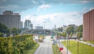 """Katowice, widok na """"oko miasta"""""""