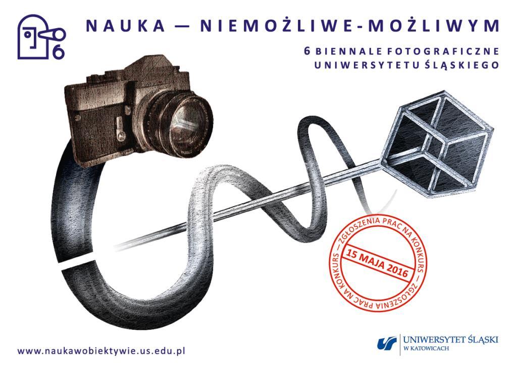 Plakat promujący konkurs fotograficzny