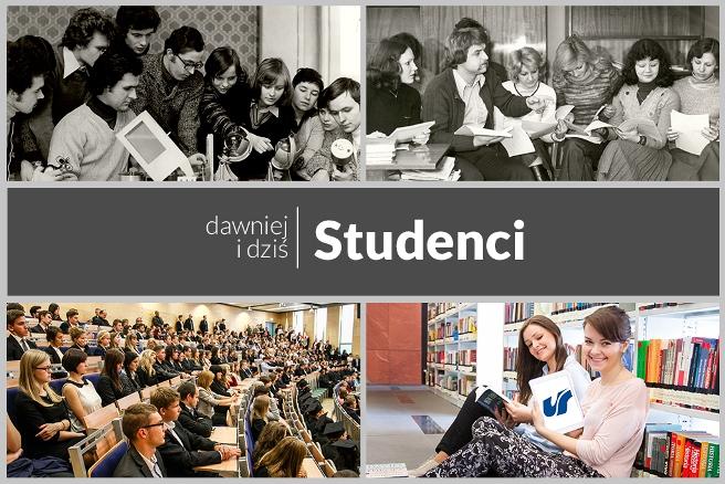 Studenci Uniwersytetu Śląskiego dawniej i dziś