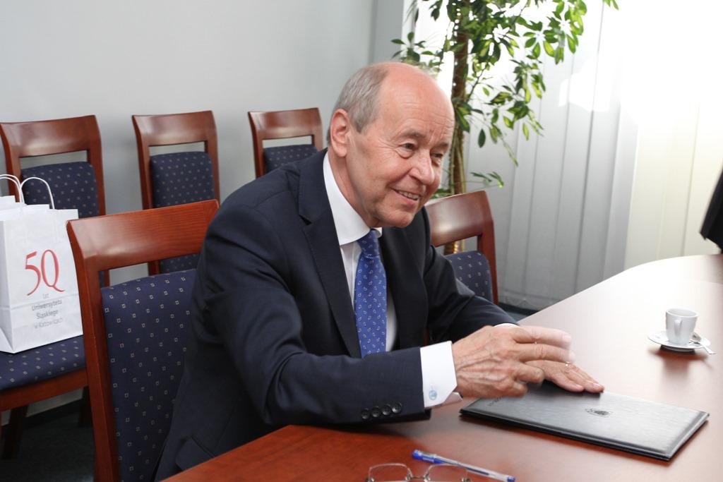 JM Rektor Uniwersytetu Śląskiego prof. Andrzej Kowalczyk