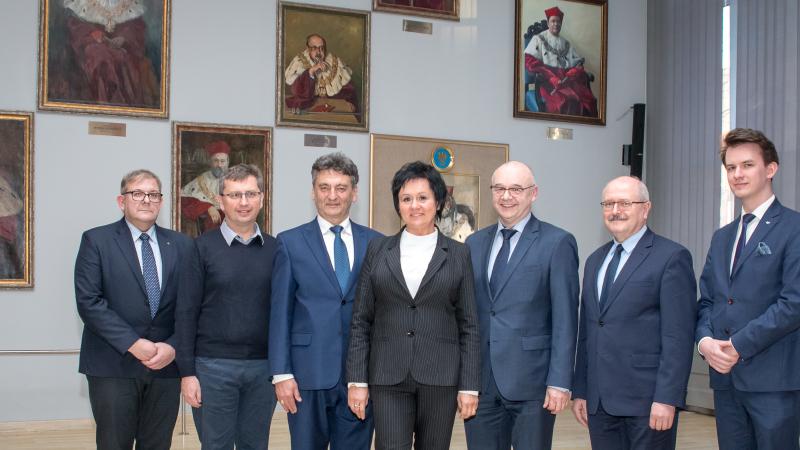 Członkowie Rady Uniwersytetu Śląskiego