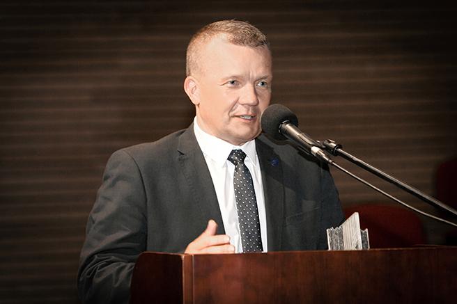 Wystąpienie Romana Kucharczyka – dyrektora Oddziału Regionalnego PZU SA/PZU Życie SA