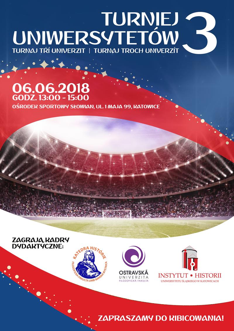 Plakat dotyczący turnieju