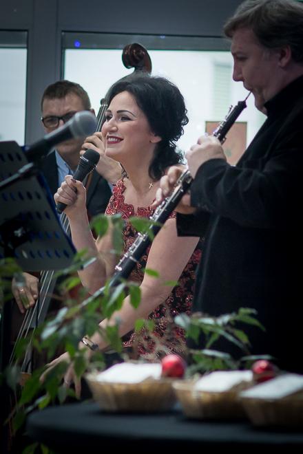 Olivia Ohl-Szulik podczas występu