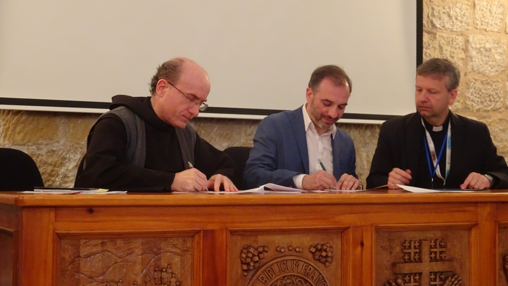 Podpisanie umowy o współpracy pomiędzy Uniwersytetem Śląskim w Katowicach a Papieskim Uniwersytetem Antonianum w Rzymie