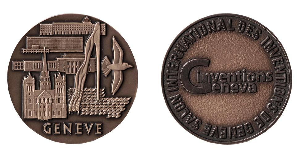 Awers i rewers brązowego medalu