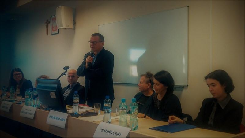"""Zdjęcie z konferencji """"Światy poetyckie Tadeusza Sławka"""""""