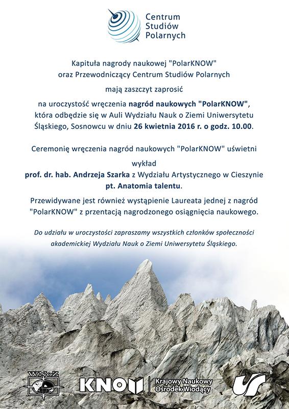 Grafika: plakat informujący o uroczystości