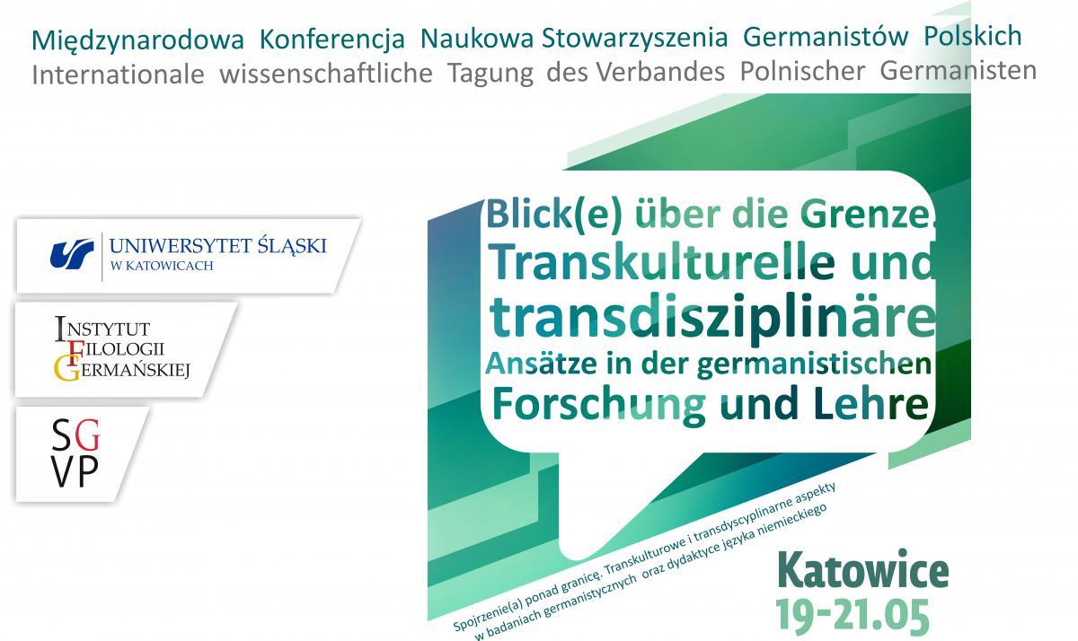 Plakat promujący konferencję zawierający nazwę wydarzenia i daty, w jakich będzie się odbywała