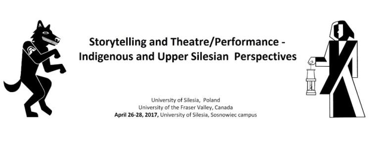 Plakat konferencji, na którym są dwa stworzenia i tytuł wydarzenia