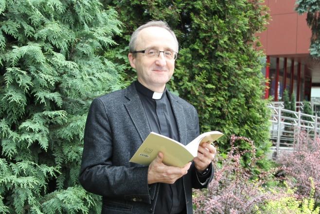 Ks. dr hab. Andrzej Uciecha. Fot. Agnieszka Sikora