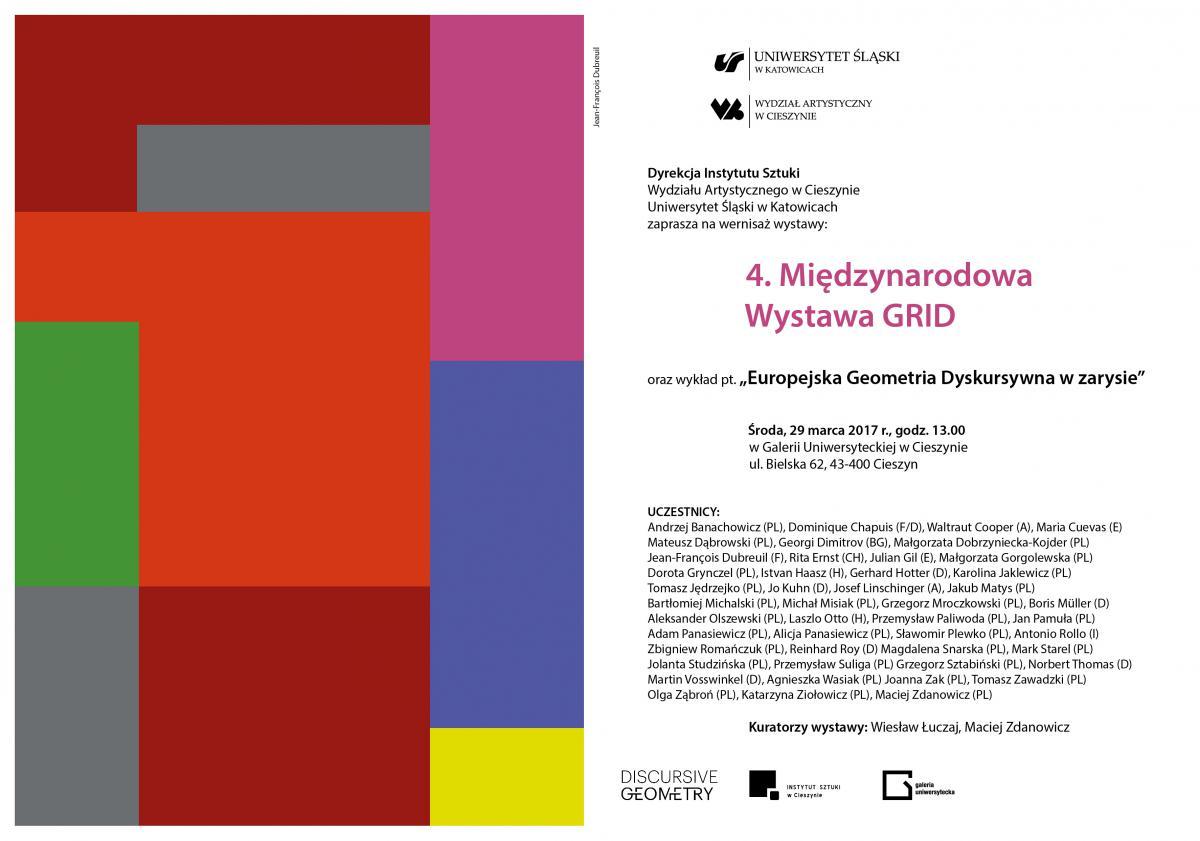 Plakat dotyczący wystawy
