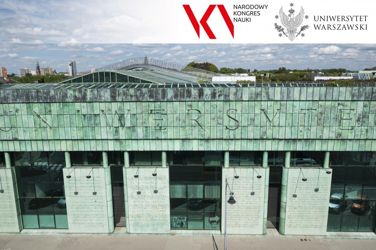 Zdjęcie budynku Biblioteki Uniwersyteckiej w Warszawie