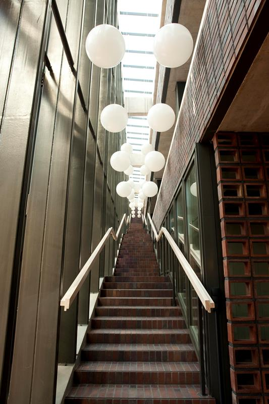 Nowa siedziba Wydziału Radia i Telewizji Uniwersytetu Śląskiego (wewnątrz)