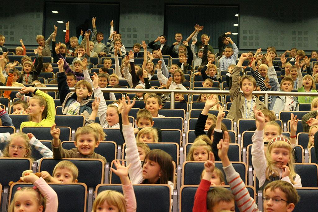 Liczba grupa dzieci zgłaszających się do odpowiedzi