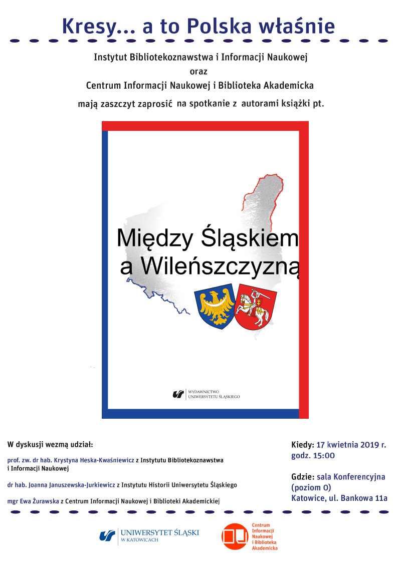 """Plakat promujący spotkanie """"Kresy... a to Polska właśnie"""""""