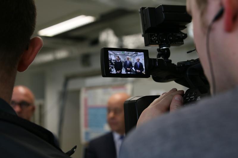 Briefing prasowy: widok na ujęcie w kamerze