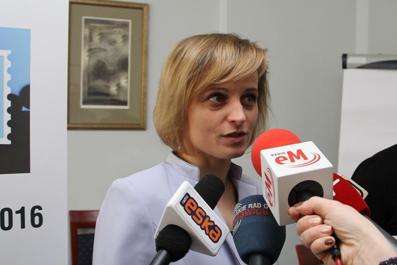 Zdjęcie: wywiadu udziela dr Sonia Szramek-Karcz