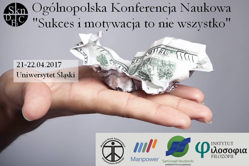 Plakat promujący konferencję naukową