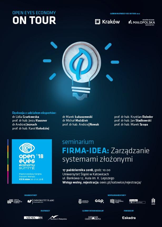 Plakat reklamujący wydarzenie, dostępny w wersji PDF
